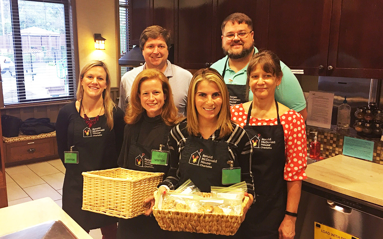 Encompass Team Supports Ronald McDonald House of Charlotte